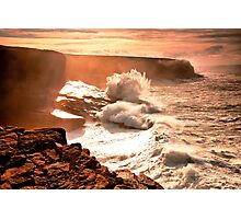Ocean Burst Kerry Head Photographic Print