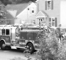 090111 030 0 water color fire engine gray scale by crescenti