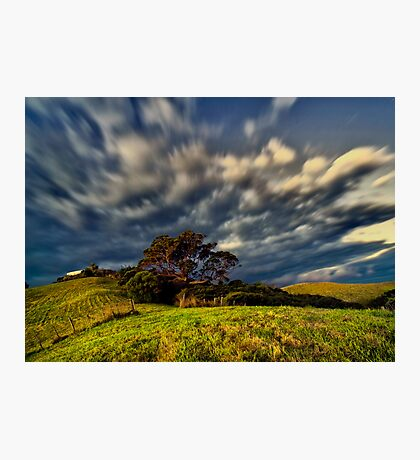 dramatic landscape Photographic Print