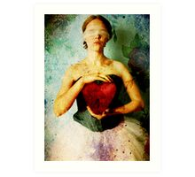 Be Still My Beating Heart... Art Print