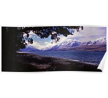 Lake Ohau Poster
