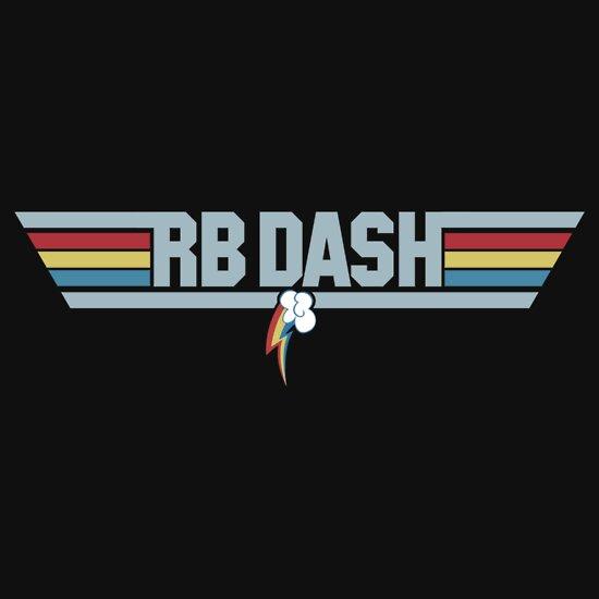 TShirtGifter presents: Rainbow Dash - Top Gun Logo