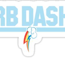 Rainbow Dash - Top Gun Logo Sticker
