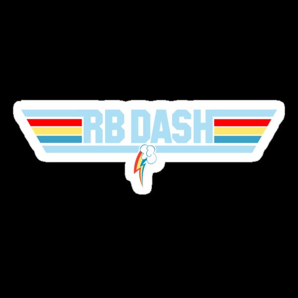 Rainbow Dash - Top Gun Logo by Strangetalk