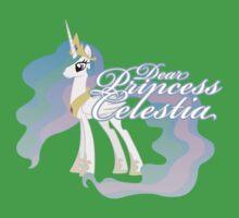 Dear Princess Celestia... Kids Clothes