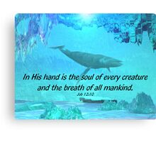 All Creatures Canvas Print