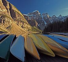 Canoes by Michael Collier