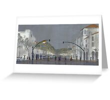 Umbrellas On Chapala Greeting Card