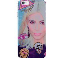 Queen Kim Kardashian iPhone Case/Skin