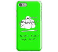 Teenage Mutant Ninja Taters iPhone Case/Skin