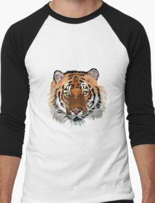 Tiger vector Men's Baseball ¾ T-Shirt