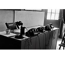 An Important Call Photographic Print