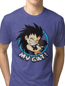 Gajeel - My Cat  Tri-blend T-Shirt