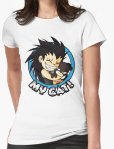 Gajeel - My Cat  Womens Fitted T-Shirt