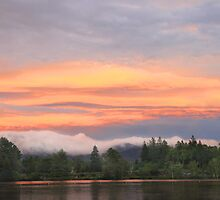 Sunset over Mirror Lake by Carmen19b