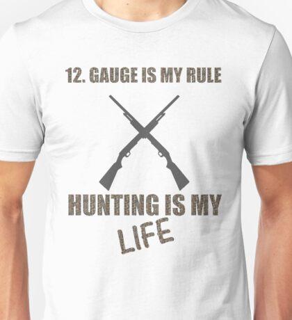 12 gauge hunting Unisex T-Shirt