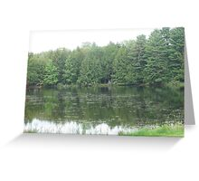Camp Woodhaven, Galway, NY Greeting Card