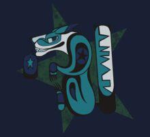 SDC: Teal Haida by Skulldog