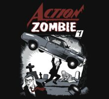 Action Zombie #1 by kal5000