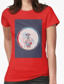 Human Body Womens Fitted T-Shirt