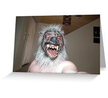 The Mask Series #3 by Mathew Lys Greeting Card
