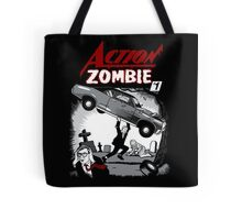 Action Zombie #1 Tote Bag