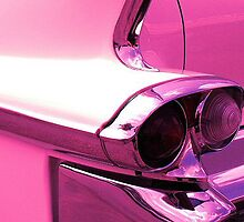 1958 Flamingo pink Cadillac sedan deville by gforall