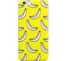 yellow banana print iPhone Case/Skin
