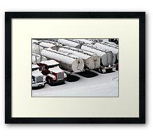 Trucks, Vancouver Framed Print