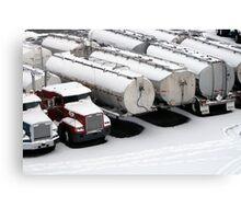 Trucks, Vancouver Canvas Print