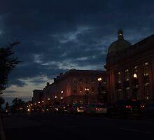 M Street, Georgetown Washington DC by mounmoun