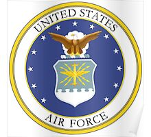 USAF Coat of Arms Poster