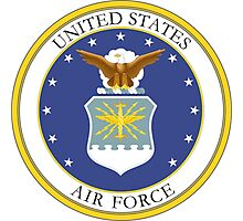 USAF Coat of Arms Photographic Print