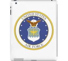 USAF Coat of Arms iPad Case/Skin
