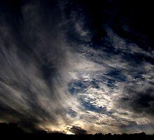 Cirrus streaks by AndreCosto