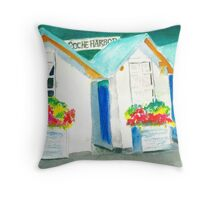 Artisans Sheds Throw Pillow