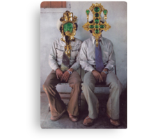 M Blackwell - How They Loved Casual Friday! Canvas Print