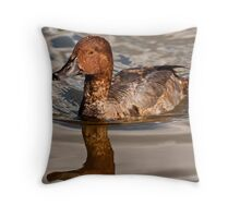 Mr. Red Throw Pillow