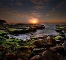 Sunrise at Turrimetta Beach by Amelia Chen