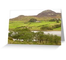 A View Of Rural Peace In Ireland Greeting Card