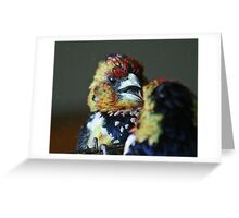 Who on earth are you? you look just like me! Greeting Card