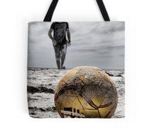 Kick Off Tote Bag
