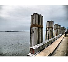 Pilings Photographic Print