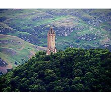 William Wallace Monument, Scotland.......!      Photographic Print