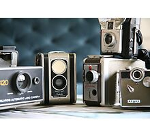 Vintage collection ...close up  Photographic Print