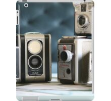 Vintage collection ...close up  iPad Case/Skin