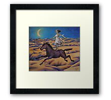 Dream of a Flying Horse Framed Print