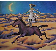 Dream of a Flying Horse Photographic Print