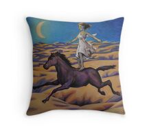 Dream of a Flying Horse Throw Pillow