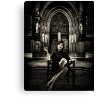 The Widow... Canvas Print